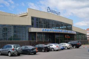 """крышная установка на спортивно-оздоровительном клубе """"Океаниум"""""""