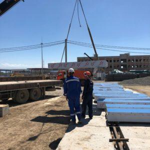 крышная установка, изготовление крышной установки, крышная установка Газпром, крышная установка под ключ