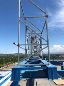 """крышная установка для компании """"Газпром"""""""
