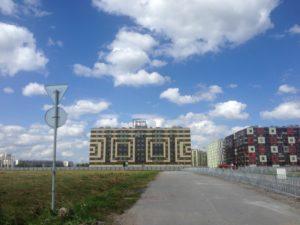 крышная установка SetlCity на улице Центральной, 54