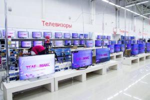 """внутреннее оформление магазинов """"Телемакс"""""""