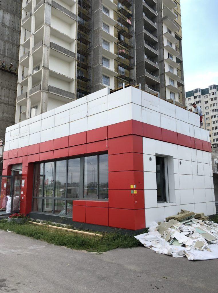сборка офиса продаж в ЖК 'МореОкеан'