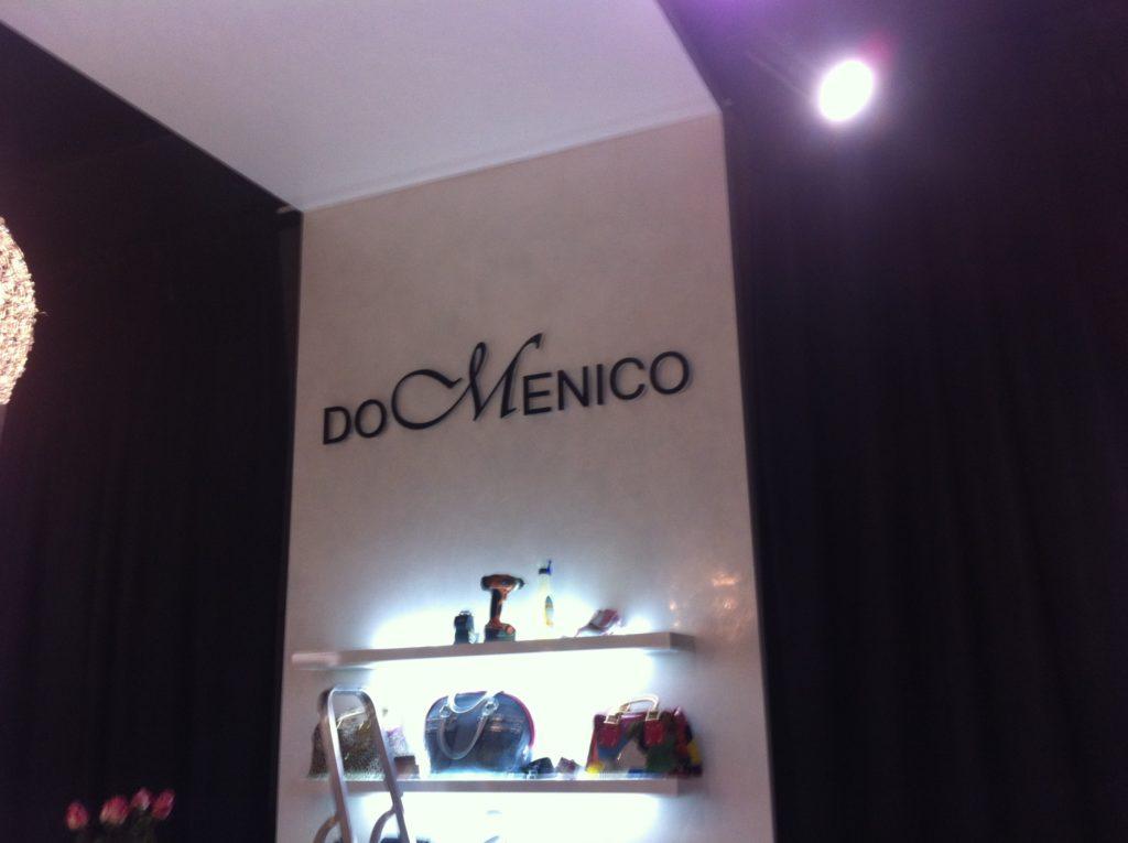 Интерьерная вывеска для Domenico