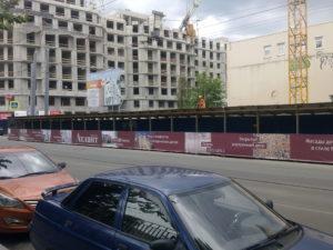 строительная галерея для жилого комплекса