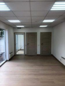 офис продаж Росстройинвест 'Терра', внутренняя отделка