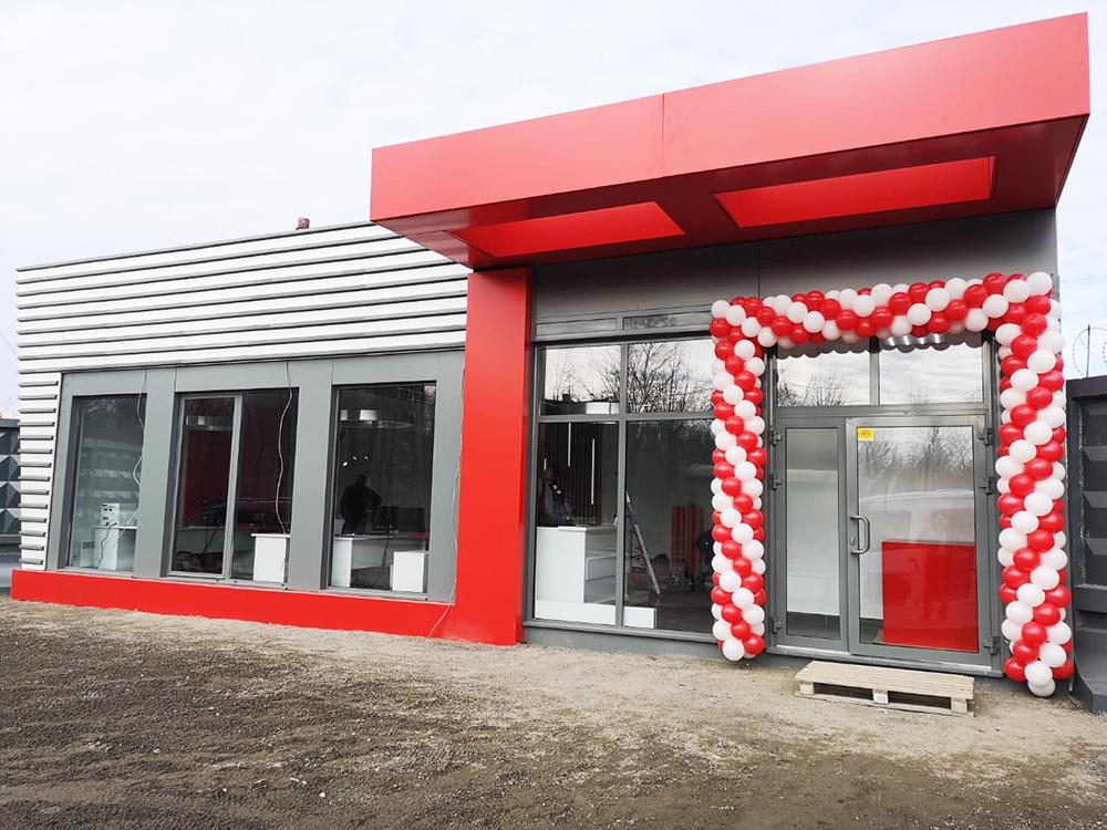 Модульный офис продаж ЖК Svetlana Park