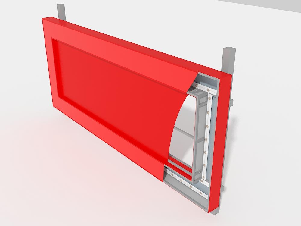 Крышная установка ЭлитСтрой Материалы, дизайн-макет