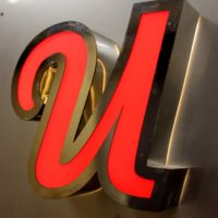 металлическая буквы со светодиодной подсветкой